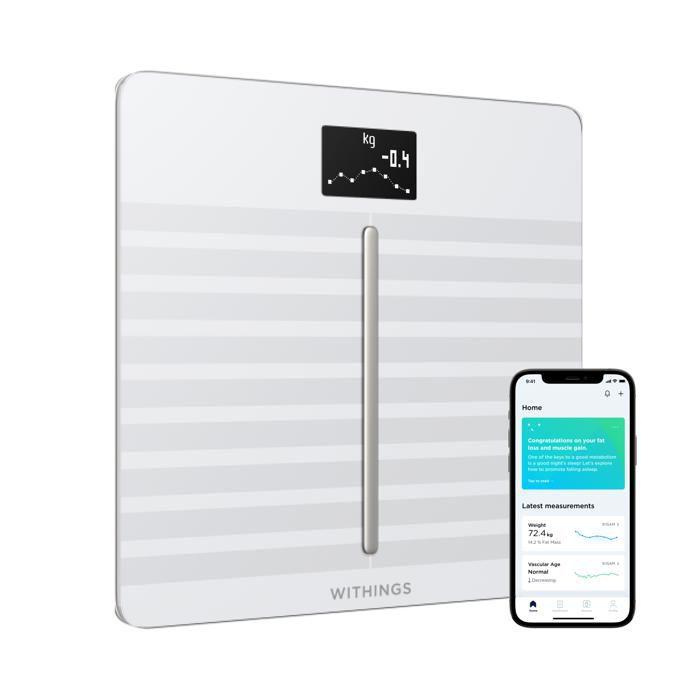 PÈSE-PERSONNE WITHINGS / NOKIA Body Cardio - Balance Wi-Fi avec