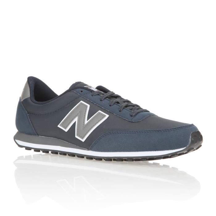 NEW BALANCE Baskets U410 Chaussures Homme Marine et gris