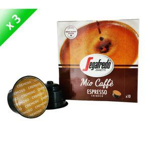 CAFÉ 30 capsules MIO CAFFE Capsules Espresso  10 - Comp