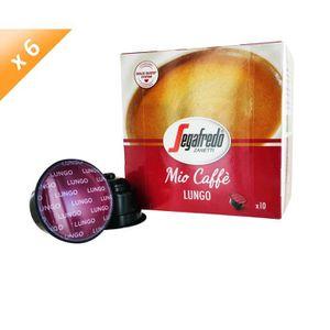 CAFÉ 60 capsules MIO CAFFE Capsules Lungo Compatible Do