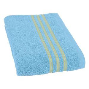 SERVIETTES DE BAIN JULES CLARYSSE Drap de bain Nima 70x140 cm bleu