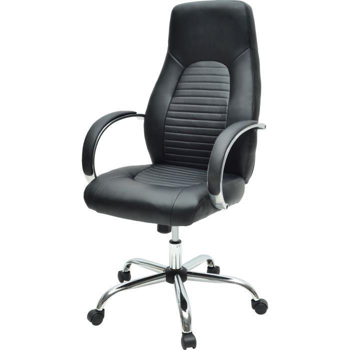 Style Noir 60 P X Flat 47 Chaise Bureau De Cm L Simili Industriel gbY6yf7