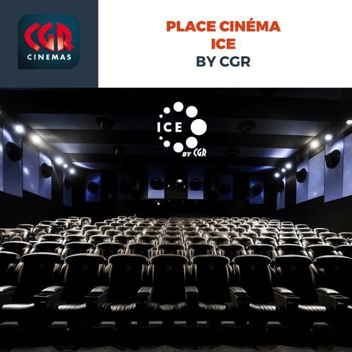 BON DE REDUCTION Place cinéma ICE by CGR - Séance immersion visuell