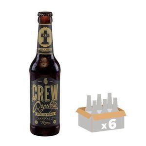 BIÈRE CREW REPUBLIC REST IN PEACE Bière Ambrée 10,1° 0,3
