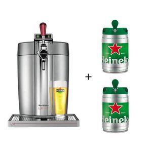 MACHINE A BIÈRE  KRUPS VB700E00 Beertender Loft + 2 fûts Heineken
