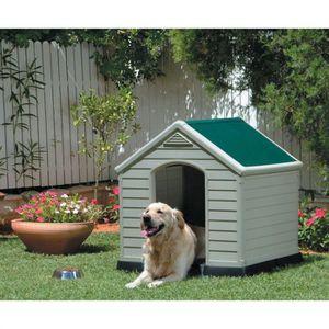 niche pour chien resine achat vente pas cher. Black Bedroom Furniture Sets. Home Design Ideas