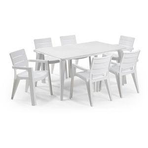 table de jardin achat vente pas cher cdiscount. Black Bedroom Furniture Sets. Home Design Ideas