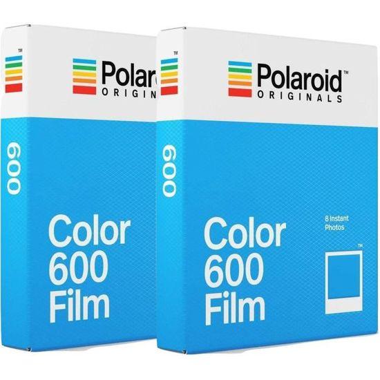 POLAROID ORIGINAL 4670 Film instantané couleur - Pour appareil photo  i-type, 600 et One step Pack de 2 836e48ee76a5