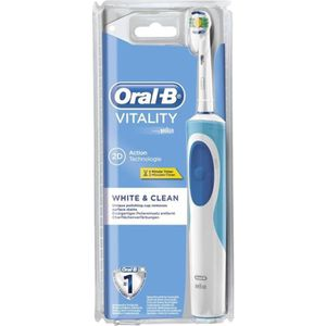 BROSSE A DENTS ÉLEC Oral-B Vitality Brosse à dents électrique White &