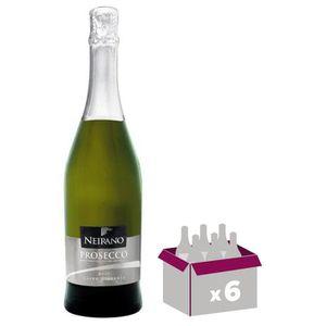VIN BLANC Neirano Prosecco Diamante - Vin effervesent x6