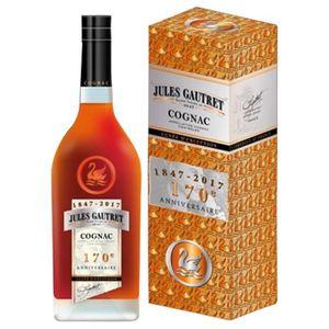 DIGESTIF EAU DE VIE Cognac Jules Gautret Collector Cuvée 170 Anniversa