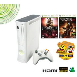 CONSOLE XBOX 360 PACK XBOX 360 ARCADE BEST OF MICROSOFT