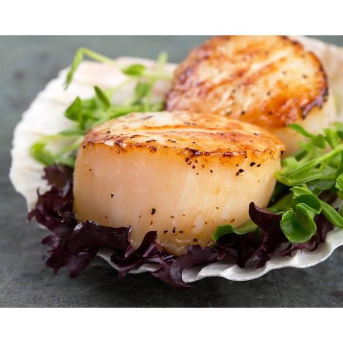 Coquille saint jacques achat vente coquille saint - Comment cuisiner les coquilles saint jacques ...