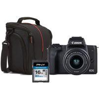 CANON M50 Appareil photo Hybride + Objectif 15-45mm, sacoche + Carte 16 Go