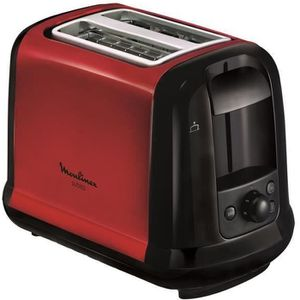 GRILLE-PAIN - TOASTER MOULINEX LT260D11 Grille-pain Subito - Rouge
