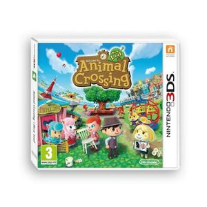 JEU 3DS ANIMAL CROSSING NEW LEAF / 2DS-3DS