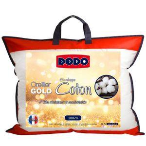 OREILLER DODO Oreiller GOLD - 50 x 70 cm - Blanc