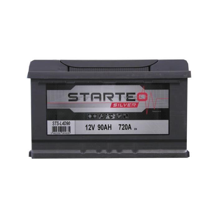 BATTERIE VÉHICULE STARTEO SILVER Batterie Auto L4D90 90AH 720A