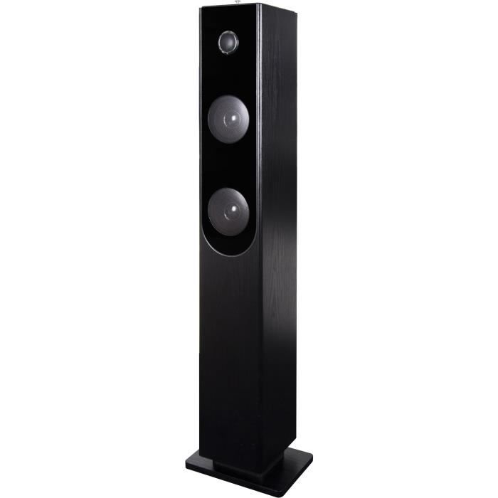 enceinte tour bluetooth cd achat vente pas cher. Black Bedroom Furniture Sets. Home Design Ideas