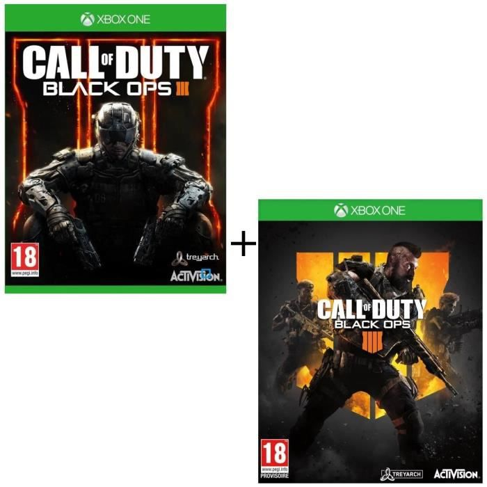 JEU XBOX ONE Pack 2 jeux Xbox One : Call Of Duty Black Ops 3 +