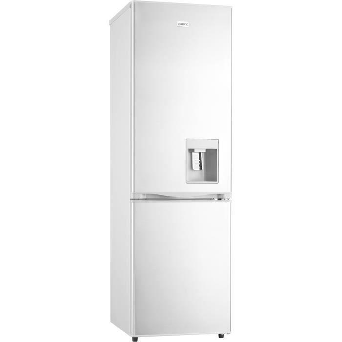 RÉFRIGÉRATEUR CLASSIQUE OCEANIC OCEAFC246DDW-Refrigérateur congélateur bas