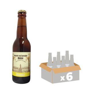 BIÈRE LA STAN Bière Blonde - 33 cl x6 - 5,2 %