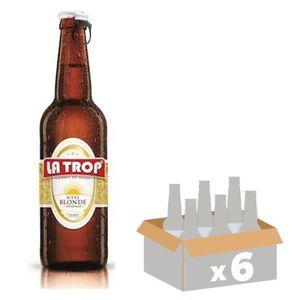 BIÈRE LA TROP Bière Blonde - 33 cl x6 - 5,5 %