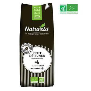 CAFÉ - CHICORÉE NATURELA Café en grain - Petit déjeuner - BIO - 50