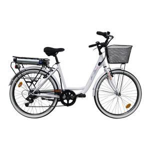 VÉLO ASSISTANCE ÉLEC EBIKE Vélo Electrique Ville VAE CITY 6 Vitesses 36