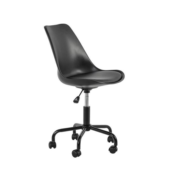 Chaise De Bureau Noire JUMP