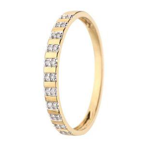 ALLIANCE - SOLITAIRE LE DIAMANTAIRE Alliance Or 375° et Diamants