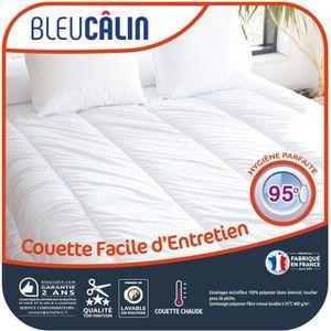 COUETTE BLEU CALIN Couette chaude Entretien Machine 95°C 1