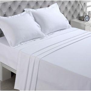 drap plat achat vente drap plat pas cher soldes d s le 9 janvier cdiscount. Black Bedroom Furniture Sets. Home Design Ideas