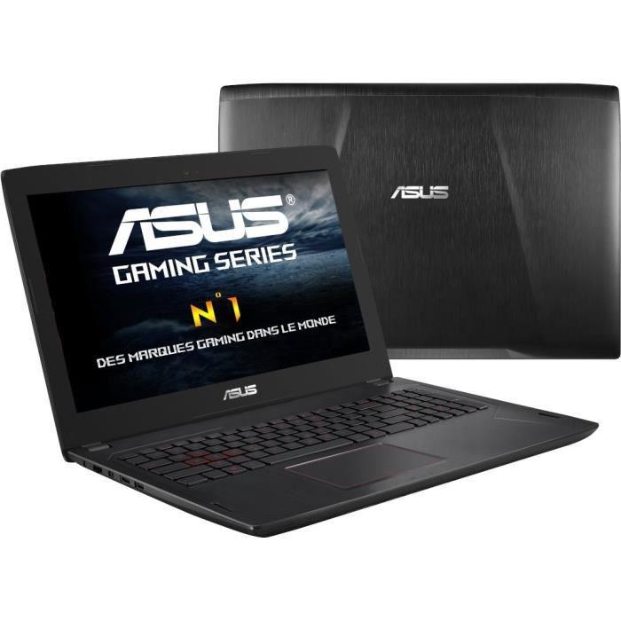 ORDINATEUR PORTABLE Ordinateur portable gamer - ASUS FX753VD-GC171T -