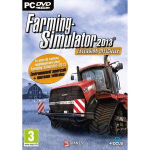 JEU PC FARMING SIMULATOR 2013 ADDON OFF /Jeu  PC