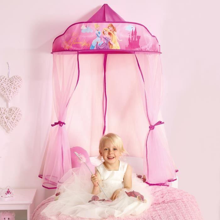 Worlds apart disney princesses ciel de lit enfant - Tour de lit princesse disney ...