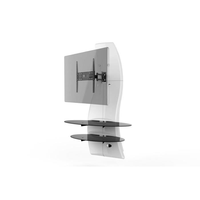 Ghost Design 2000 Rotation Meuble Tv Support Blanc Achat Vente