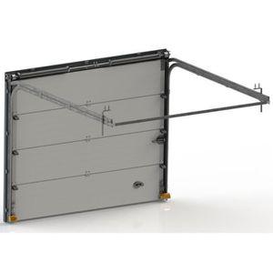 Porte de garage avec portillon achat vente pas cher - Porte garage basculante avec portillon pas cher ...