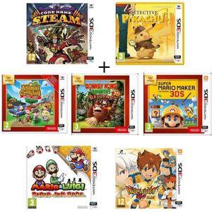 JEU 3DS Pack 7 jeux 3DS