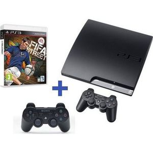 CONSOLE PS3 PS3 160 Go + MANETTE DUALSHOCK 3 + FIFA STREET 4