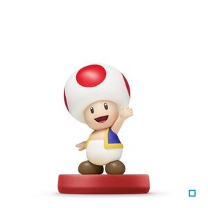 FIGURINE DE JEU Figurine Amiibo Toad Super Mario Collection