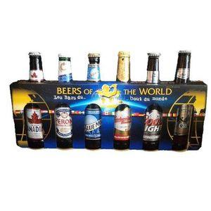 BIÈRE Coffret de 6 bières Beer of the Word - 33 cl - 4,7