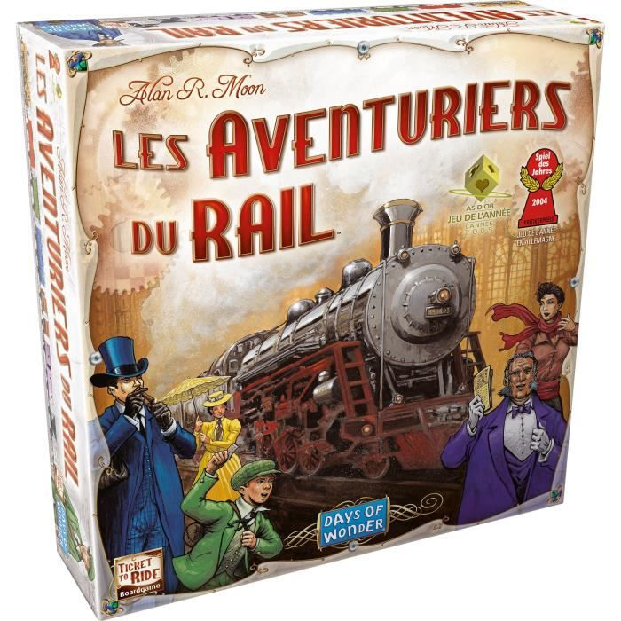 ASMODEE Les Aventuriers du Rail USA - Achat / Vente jeu