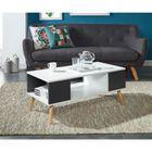 TABLE BASSE BABETTE Table basse scandinave pieds en eucalyptus