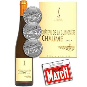 VIN BLANC Château de la Guimonière 2003 Chaume 1er Cru