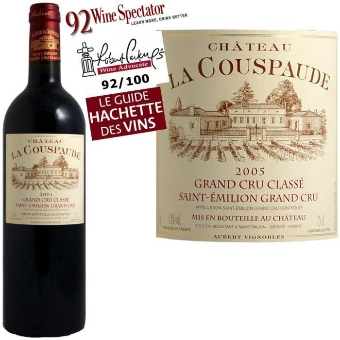 Château La Couspaude 2005 St Emilion Gd Cru Classé - Achat / Vente ...
