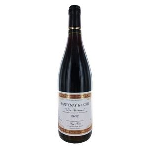 VIN ROUGE La Comme 2007 Santenay 1er Cru - Vin rouge de Bour