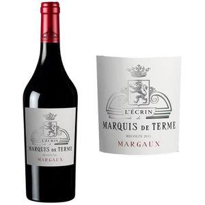 VIN ROUGE L'Ecrin de Marquis de Terme 2011 Margaux - Vin rou