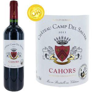 VIN ROUGE Château Camp De Saltre 2011 Cahors -Vin rouge du S