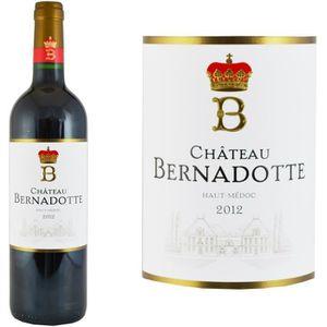 VIN ROUGE Château Bernadotte 2012 Haut-Médoc - Vin rouge de